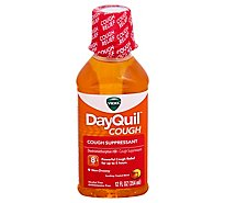 Vicks DayQuil Cough Suppressant Syrup Non Drowsy Soothing Tropical Blend - 12 Fl. Oz.