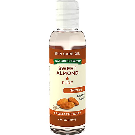 Sweet Almond Oil - .51 Oz