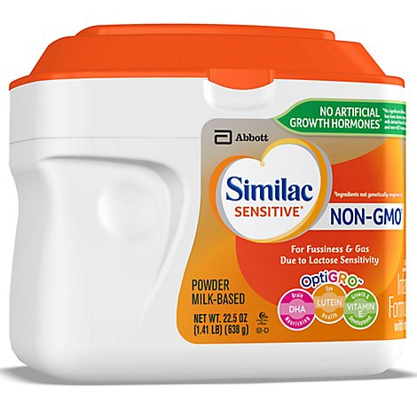 Similac Sensitive Milk-Based Powder Infant Formula with Iron Stage 1 - 1.41 Lb