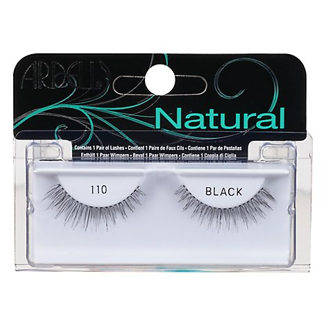 Ardell Fashion Lashes Natural Black 110 - 2 Count