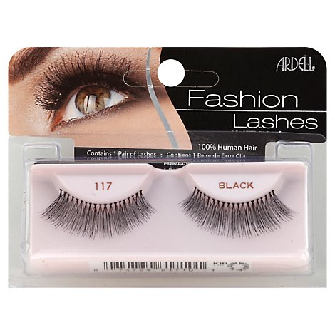 Ardell Fashion Lashes Black 117 - 2 Count