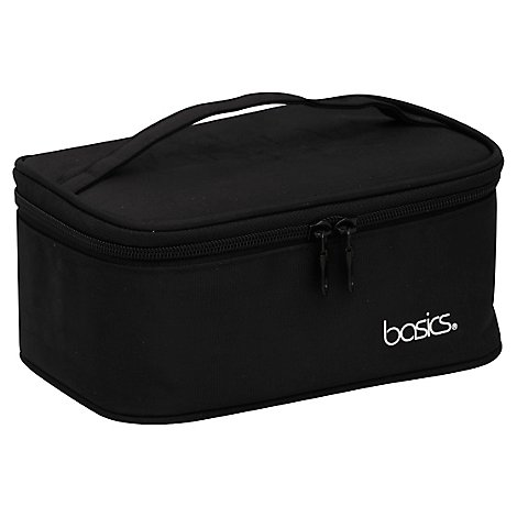 All Basics Beauty Black Train Case - Each