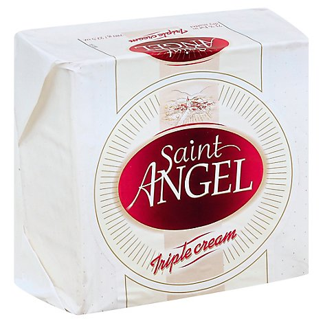Guilloteau Cheese Saint Angel Triple Creme 0.50 LB