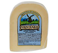 Van Kaas Goat Gouda Cheese Pre Weighed 0.50 LB