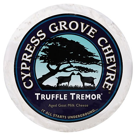 Cypress Grove Truffle Tremor Goat Cheese With Truffles 0.50 LB