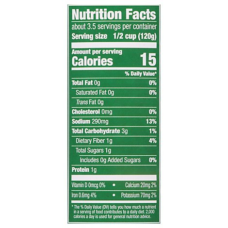 Libbys Wax Beans Cut Tender Young - 14.5 Oz