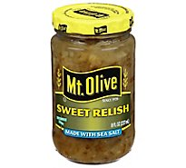 Mt. Olive Relish Sweet Made with Sea Salt - 8 Fl. Oz.