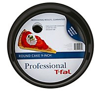 T-Fal Round Cake Pan 9 Inch - Each