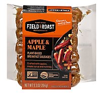 Field Roast Sausage Breakfast Apple Maple - 9.31 Oz