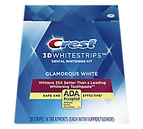 Crest 3D White Whitestrips Dental Whitening Kit - 14 Count