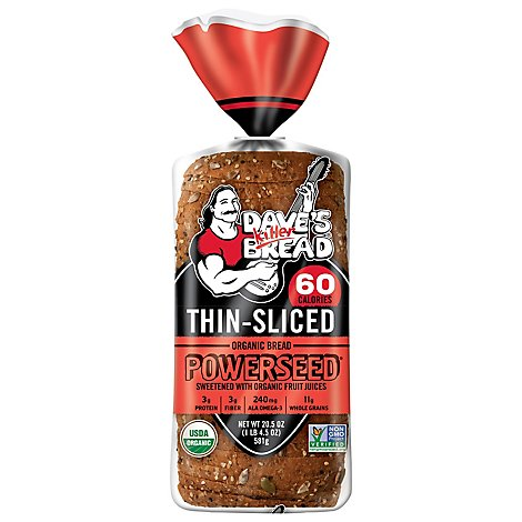 Daves Killer Bread Organic Thin Sliced Powerseed - 20.5 Oz