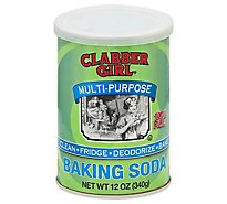 Clabber Girl Baking Soda - 12 Oz