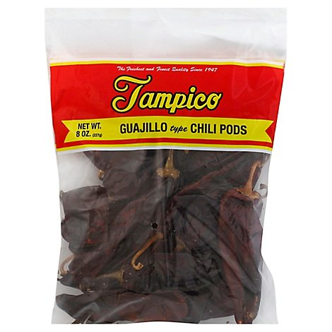 Tampico Spices Guajillo Chili Pods - 8 Oz