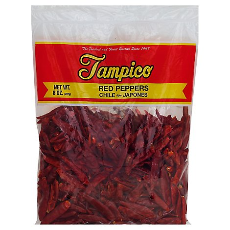 Tampico Spices Red Pepper Chili Japones - 8 Oz
