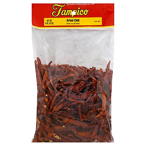 Tampico Spices Arbol Chili Pods - 8 Oz