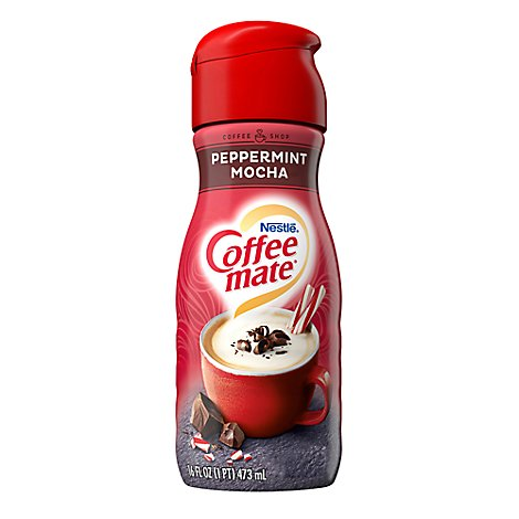 Coffeemate Coffee Creamer Peppermint Mocha - 16 Fl. Oz.