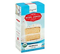 Miss Jones Baking Co Organic Cake Mix Vanilla - 15.87 Oz