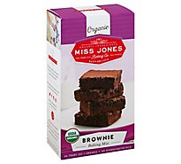 Miss Jones Baking Co Organic Baking Mix Brownie - 14.67 Oz