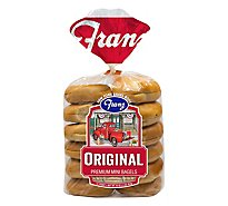 Franz Plain Mini Bagel - 16 Oz