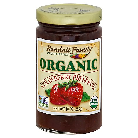 Randall Family Preserves Strawberry Organic - 10 Oz
