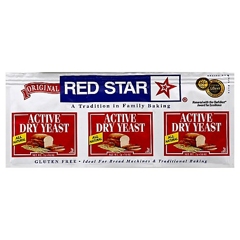 Red Star Yeast Active Dry Original - 0.25 Oz