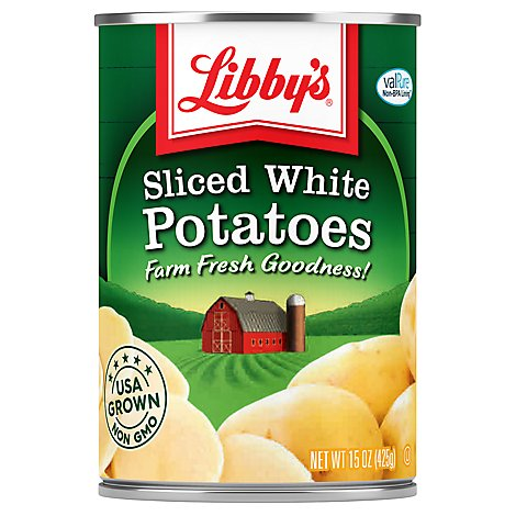 Libbys Potatoes Sliced White - 15 Oz