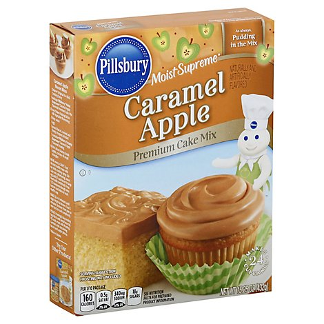 Pillsbury Moist Supreme Cake Mix Premium Caramel Apple - 15.25 Oz