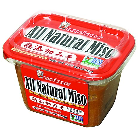 Marukome All Natural Miso - 13.2 Oz