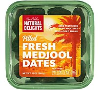 Natural Delights Pitted Medjool Dates - 12 Oz.