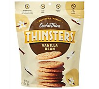 Mrs. Thinsters Cookie Thins Deliciously Crunchy Cookies Cake Batter - 4 Oz