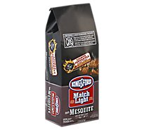Kingsford Match Light Charcoal Briquets Instant with Mesquite - 6.3 Lb