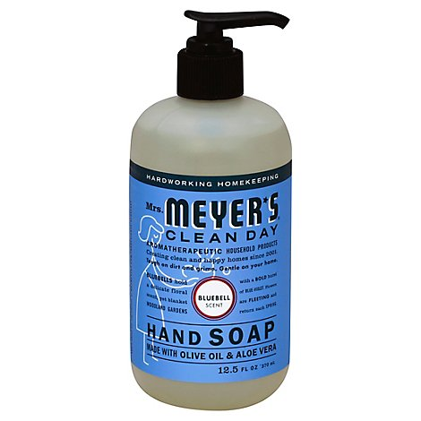 Mrs. Meyers Clean Day Liquid Hand Soap Bluebell Scent 12.5 ounce bottle (Pack of 3)