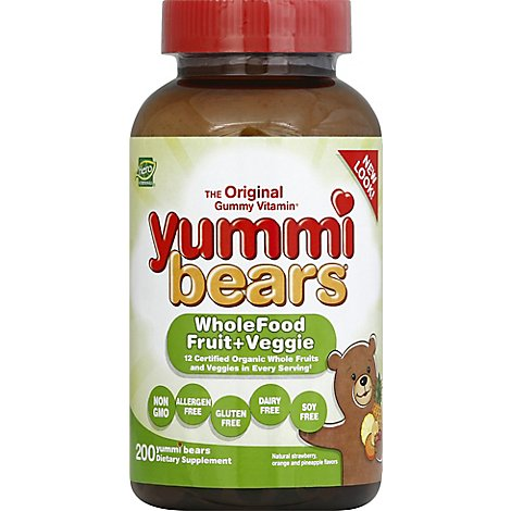 Yummi Whole Foods Value Size - 200.0 Count