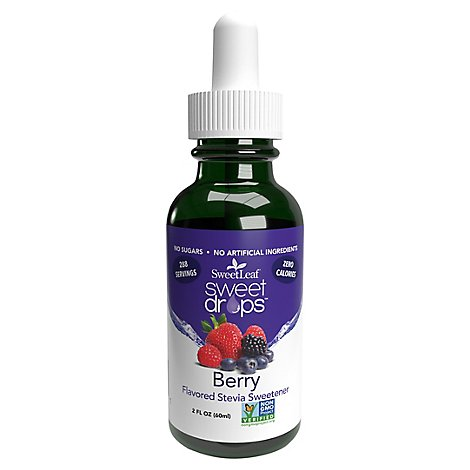 Sweetleaf Stevia Liquid Berry - 2 Oz