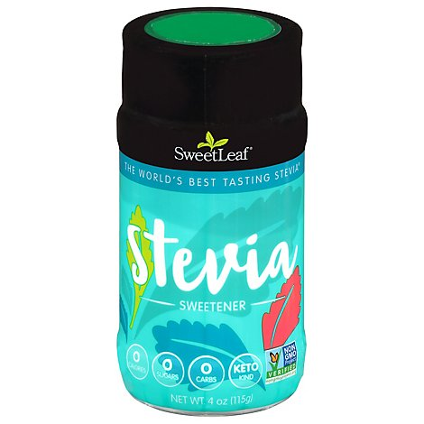 Sweetleaf Stevia Fiber Powder Shaker - 4 Oz