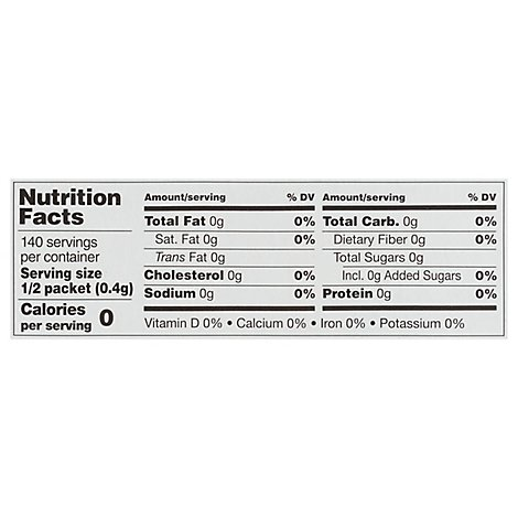 Sweet Stevia Org - 70 Count