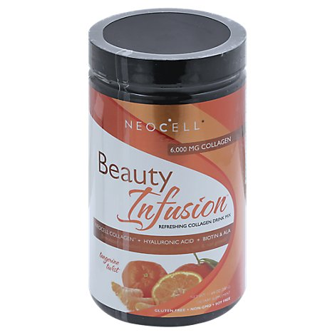 Neocell Beauty Infusion Drink Mix Refreshing Collagen Tangerine Twist - 11.64 Oz