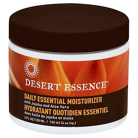Desert Essence Facial Moisturizer With Jojoba Oil & Aloe Vera - 4 Oz