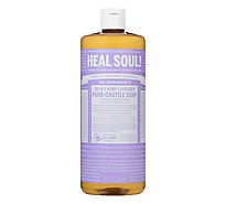 Dr. Bronners Liquid Soap Pure-Castile 18-In-1 Hemp Lavender - 32 Fl. Oz.