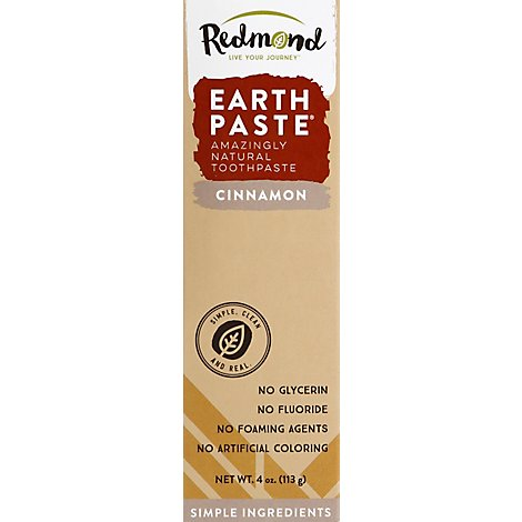 Real Toothpaste Cinnamon - 4.0 Oz