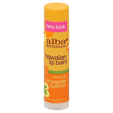 Albab Lip Balm Pineapple Quench - .15 Oz