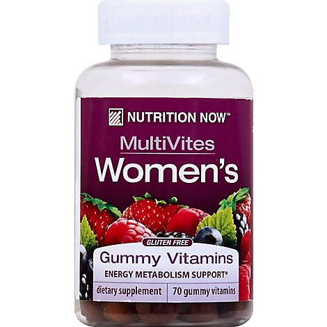 Nunow Vitamin Gummy Womens - 70.0 Count