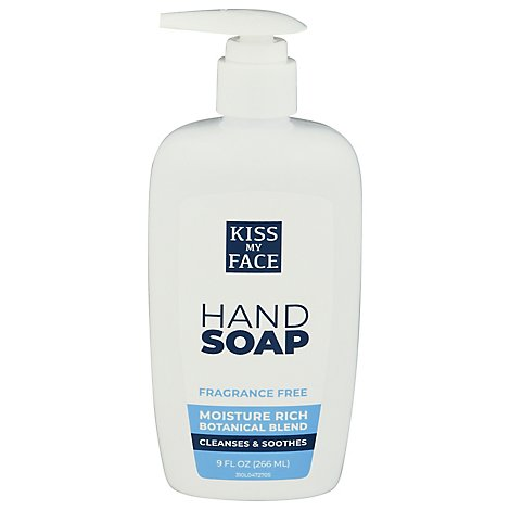 Kiss My Face Soap Moisture - 9 Oz