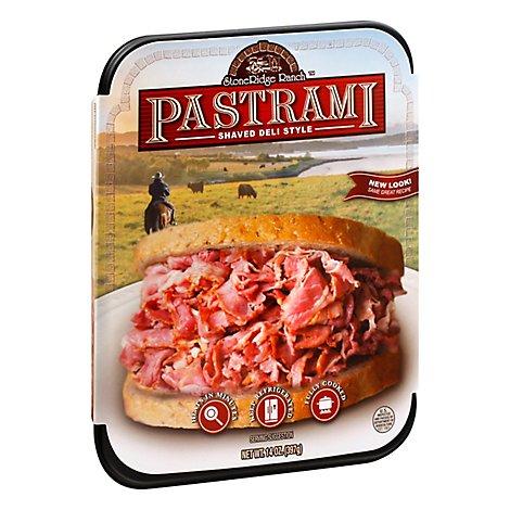 Stoneridge Ranch Shaved Pastrami - 14 Oz