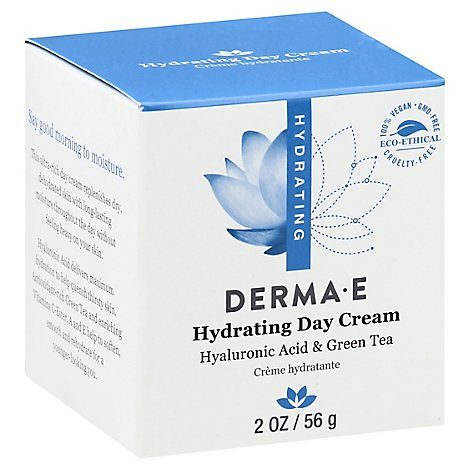 Derma E Hydrating Day Creme with Hyaluronic Acid Dry Normal - 2 Oz