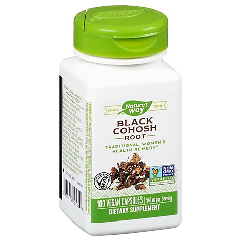Nw Black Cohosh  Root - 100 Count
