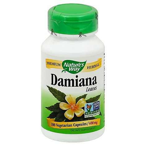 Nw Damiana Leaves - 100 Count