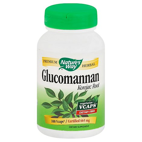 Nw Glucomannan - 100 Count