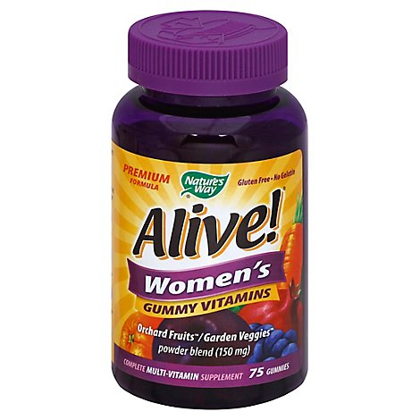 Nw Nway Alive Wmn Gmmy Multi-Vit - 75 Count