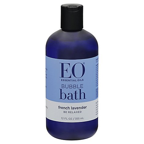EO Bubble Bath Serenity French Lavender with Aloe - 12 Oz